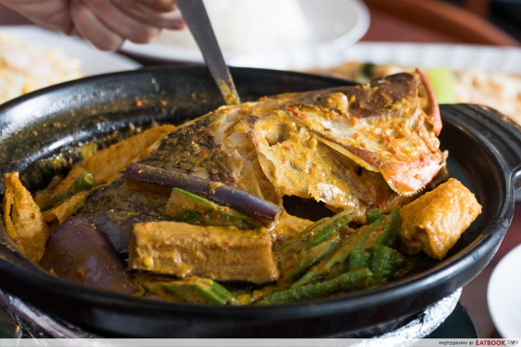 Star Vista Lunch Deals Segar Restaurant Fish Head Curry