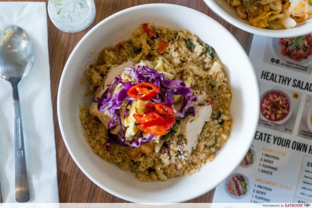 Star Vista Lunch Deals YOLO Cauliflower Rice