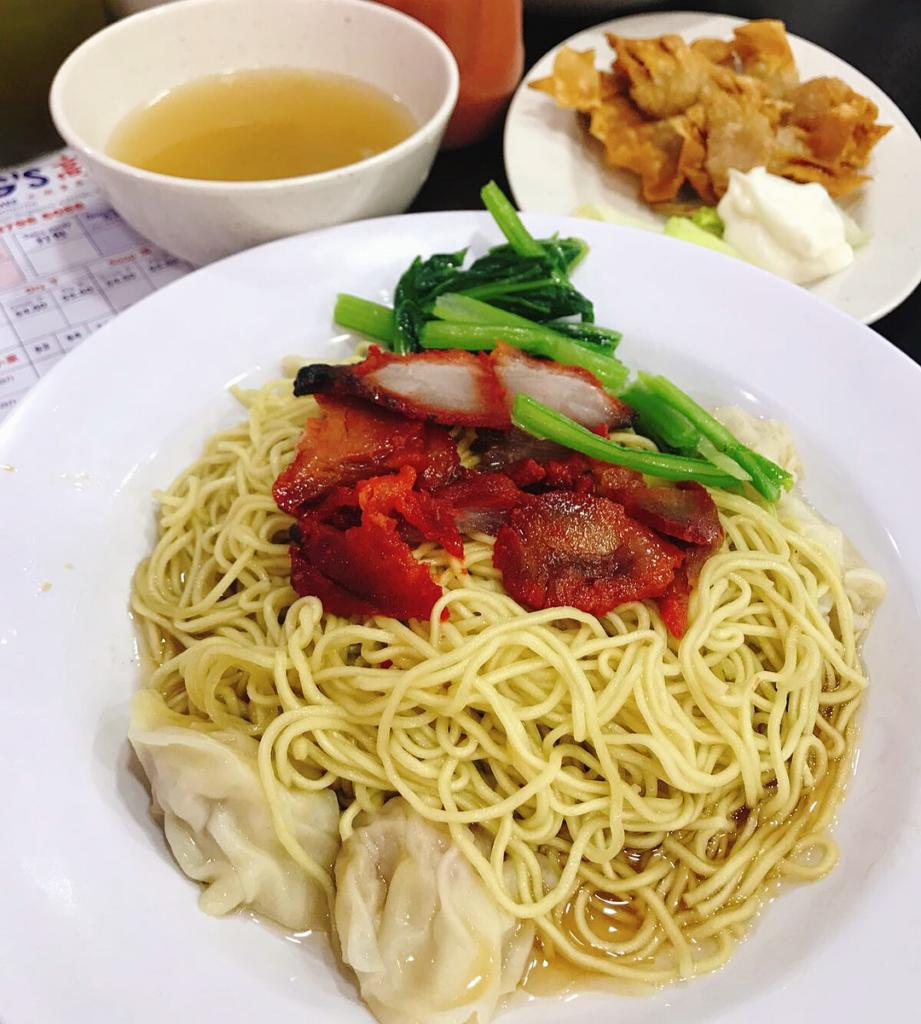 Tanjong Katong Food - Eng's Char Siew Wanton Mee