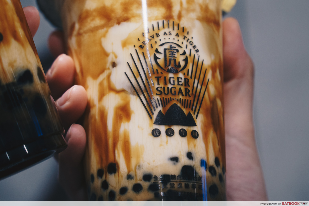 Tiger Sugar Review: OG Brown Sugar Fresh Milk from Taiwan