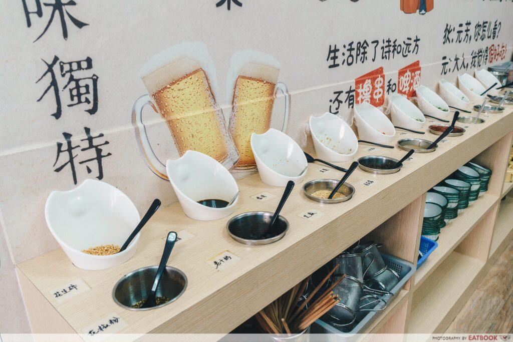 Xiao Jun Gan - Condiments Station