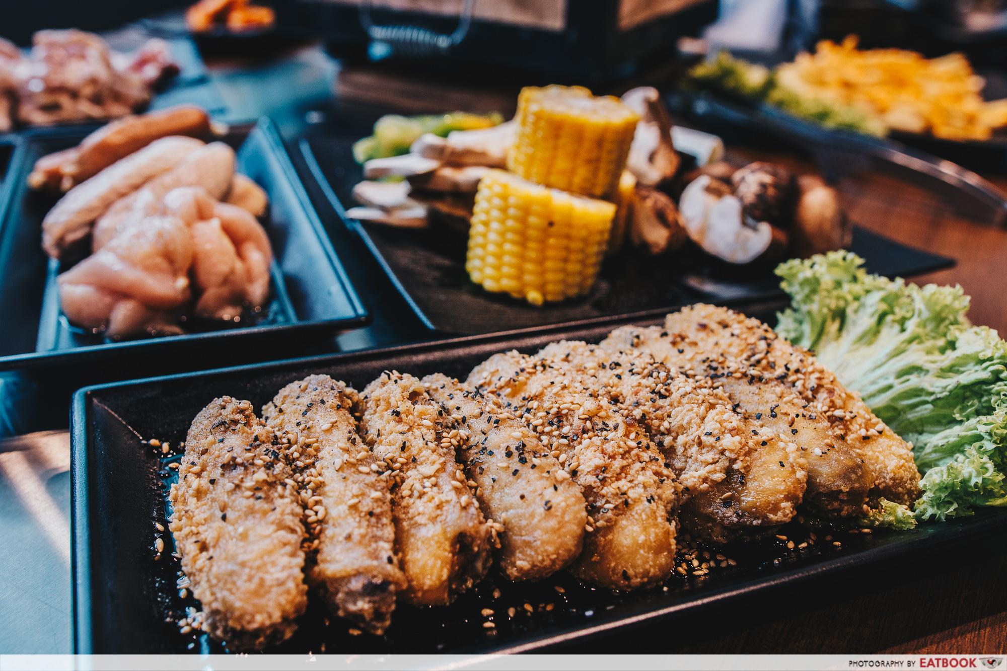 Yakiniku Ohji - Deep-Fried Chicken Wings