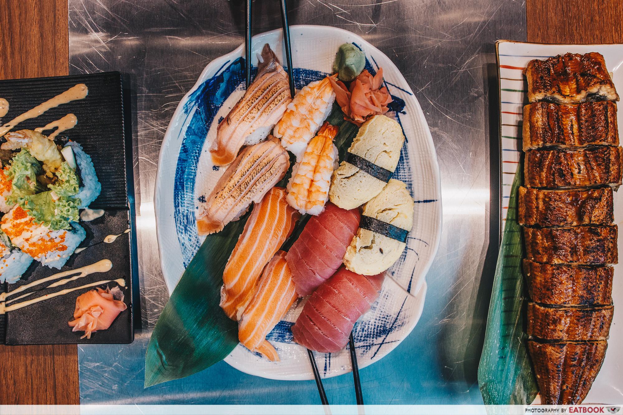 Yakiniku Ohji - Sushi Buffet Flatlay