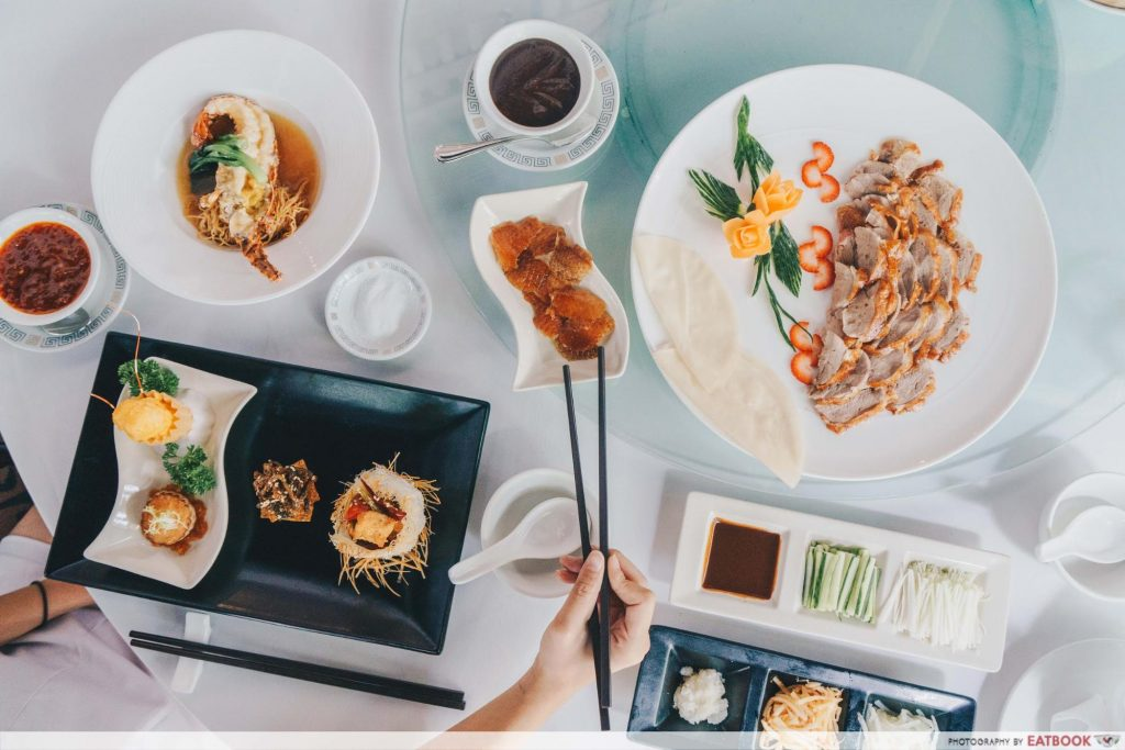 limited time dining deals maybank Min Jiang at One-North