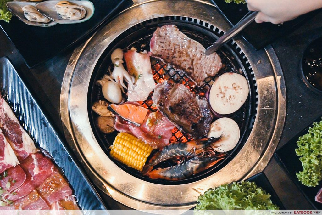 limited time dining deals maybank rocku yakiniku buffet