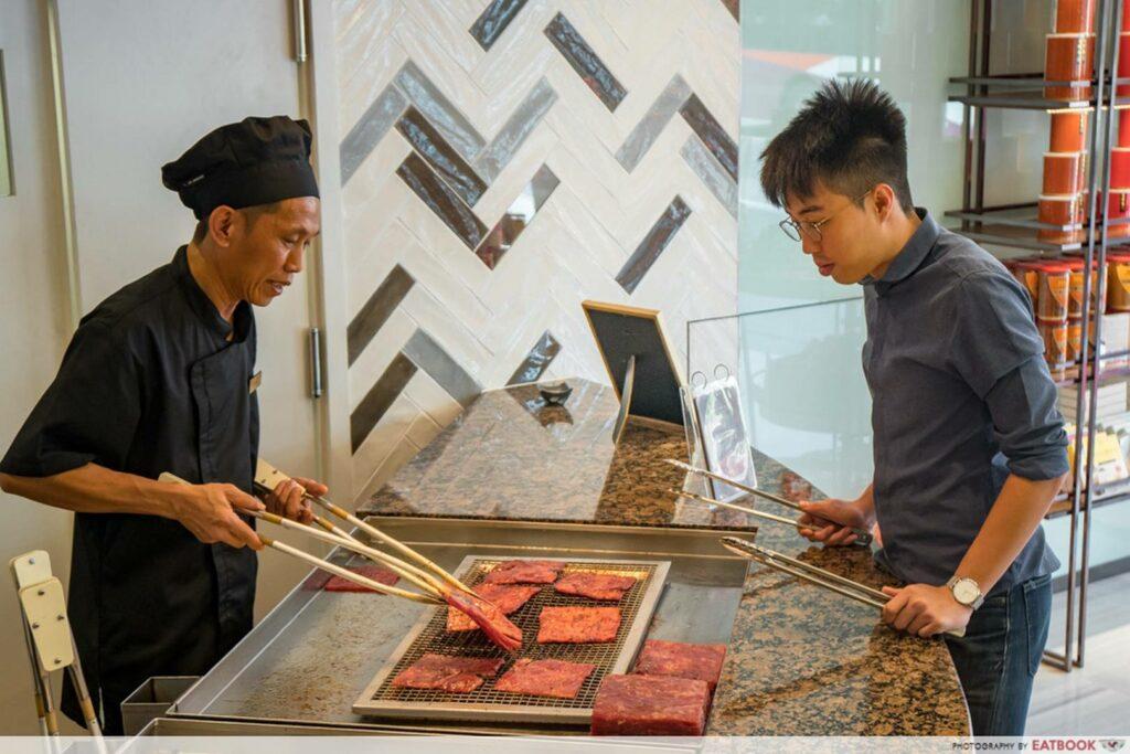 Bee Cheng Hiang Grillery DIY BBQ