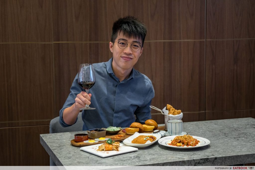 Bee Cheng Hiang Grillery Wine pairing