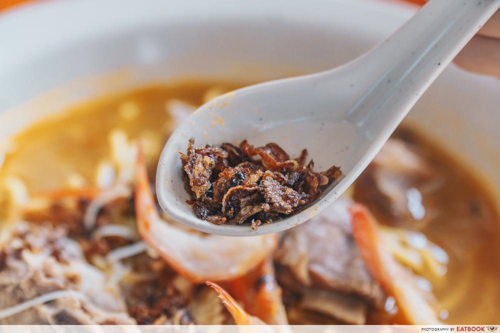 Big Prawn Noodles - Big Prawn Noodle Shallots