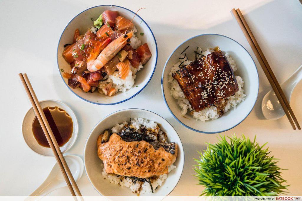 Bras Basah Food Places - District Sushi