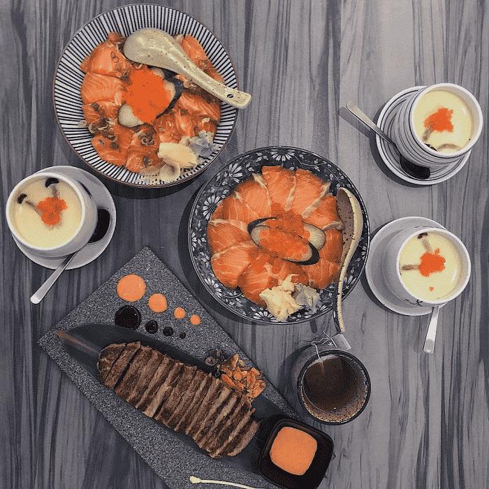 Bras Basah Food Places - En Sushi-min