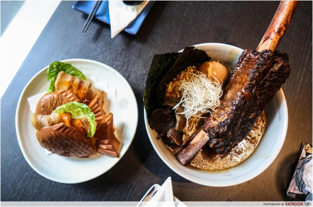 Bras Basah Food Places - Sumo Bar Happy