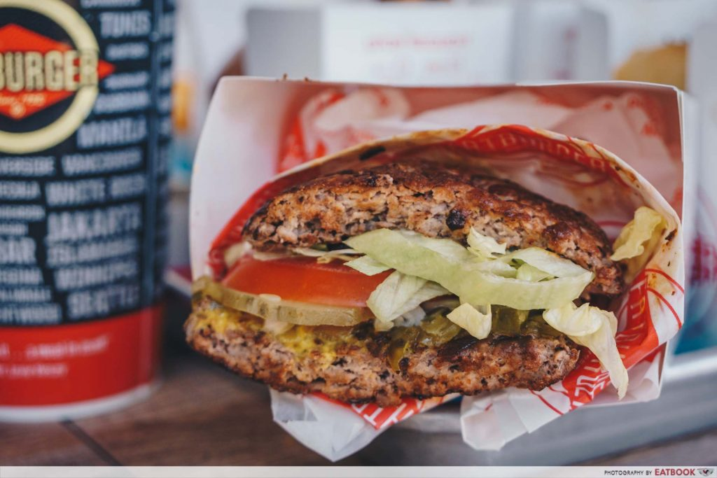 Fatburger Skinny Burger