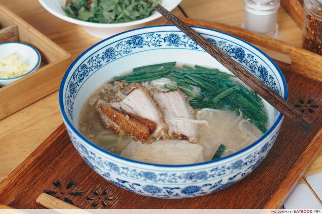 Mademoiselle Tang Noodle Fried Pork Rice Noodle-min