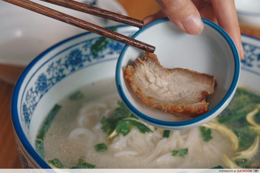 Mademoiselle Tang Noodle Pork Belly