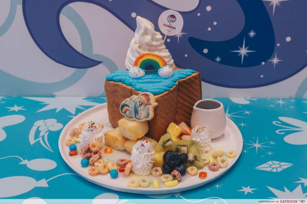 My Little Pony Cafe Candylicious Rainbow Fruity Shibuya Toast