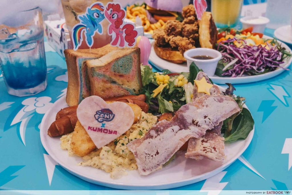 My Little Pony Cafe Magic Friendship Rainbow Big Breakfast