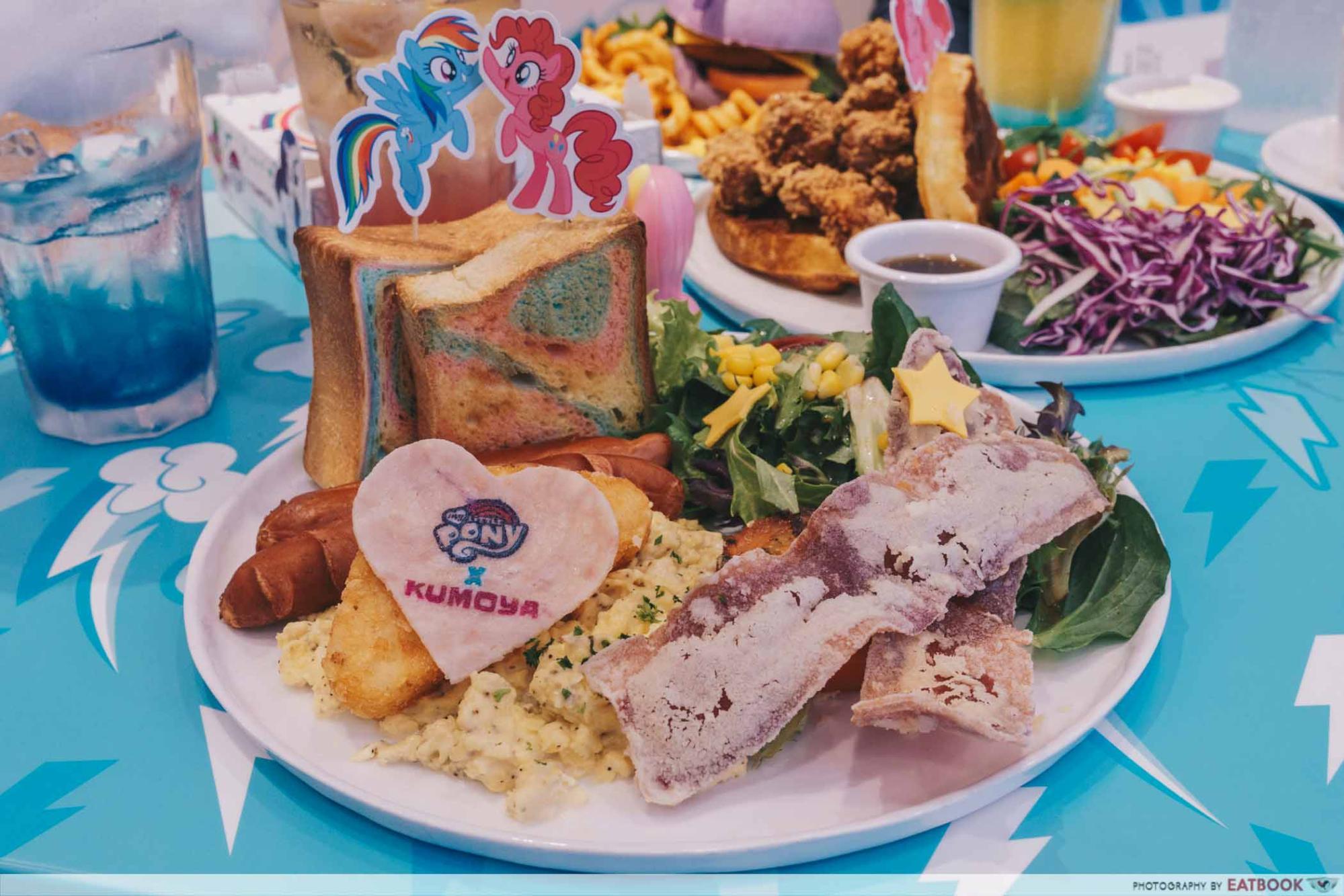 My Little Pony Cafe Magic Friendship Rainbow Big Breakfast