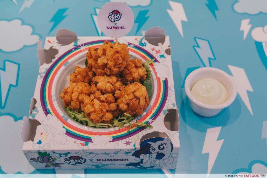 My Little Pony Cafe Shrimp Bomb with Wasabi Mayo