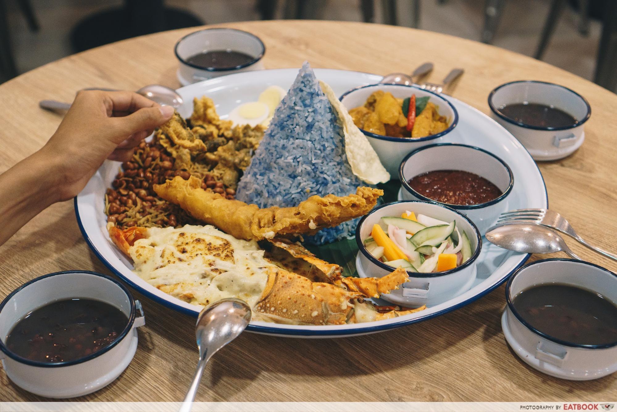 New Restaurant October White Tiffin