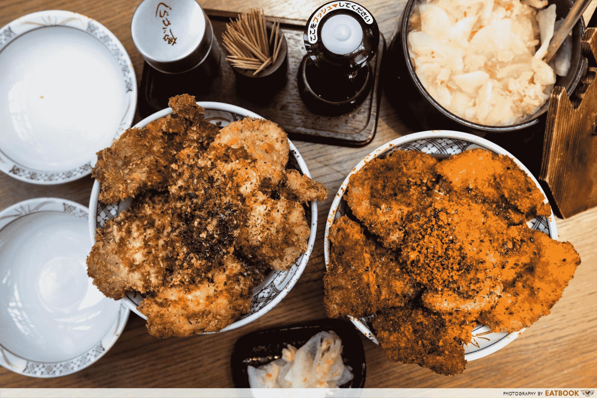 Promenade Food Places - Katsudon Hanakatsu