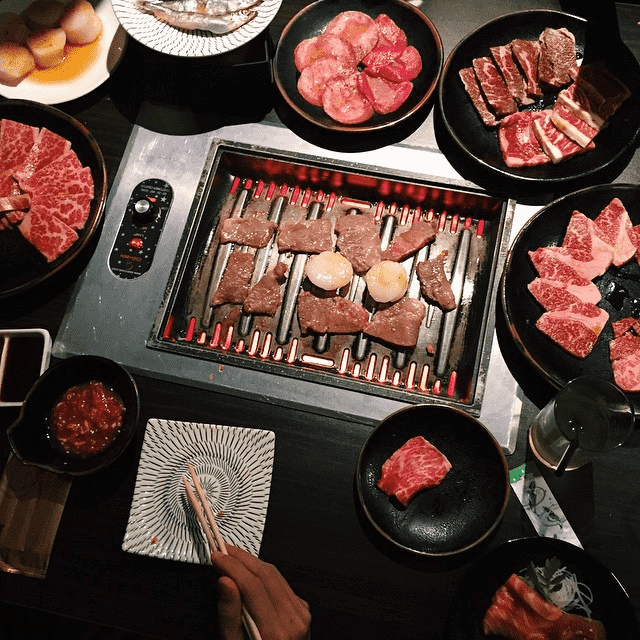 Promenade Food Places - Tenkaichi Japanese BBQ Restaurant