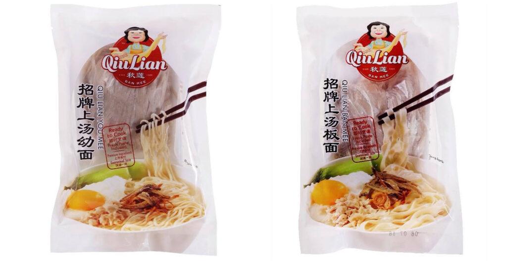Qiu Lian Ban Mee Instant Noodles