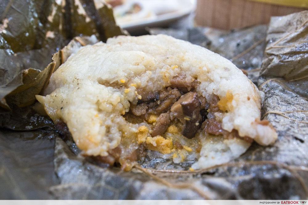 Zi Yean Bistro - Glutinous Rice In Lotus Leaf