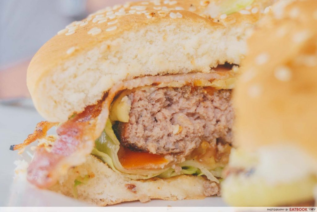 73 Hillcrest Beef Burger