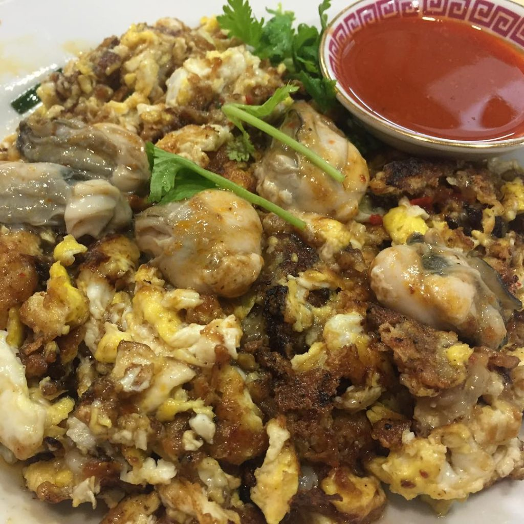 Berseh Food Centre - Lim Oyster Cake-min