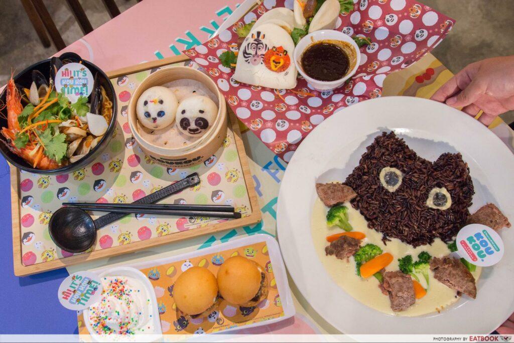 Character Cafes - DreamWorks KouKou Cafe