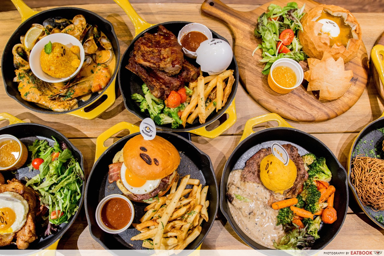 City Hall Food Gudetama Cafe