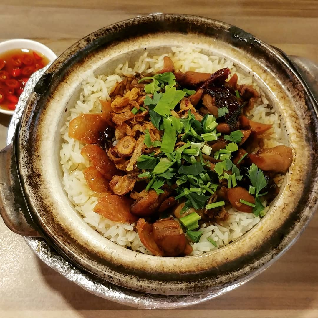 City Hall Food Hup Lee Claypot Rice