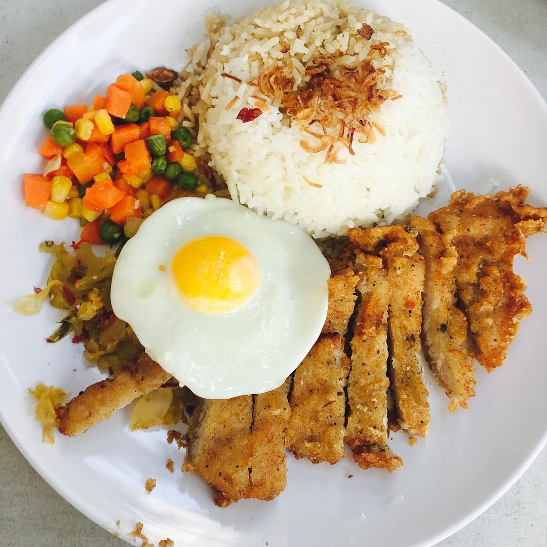 City Hall Food supreme pork chop rice