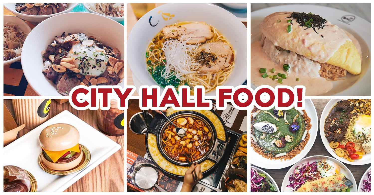 10 City Hall Food Gems Including Truffle Beef Bowl Lava Style Omurice And More Eatbook Sg New Singapore Restaurant And Street Food Ideas Recommendations