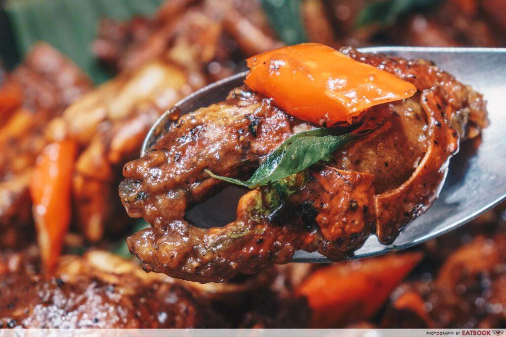 Crab buffet - black pepper crab