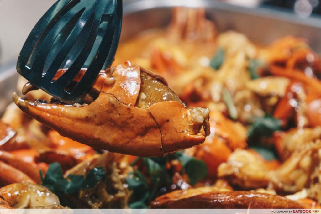Crab buffet - chilli crab