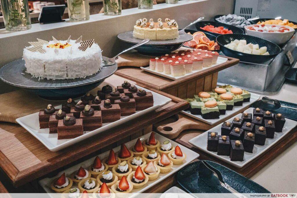Crab buffet - desserts