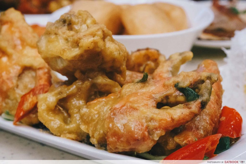 Crab buffet - salted egg crab