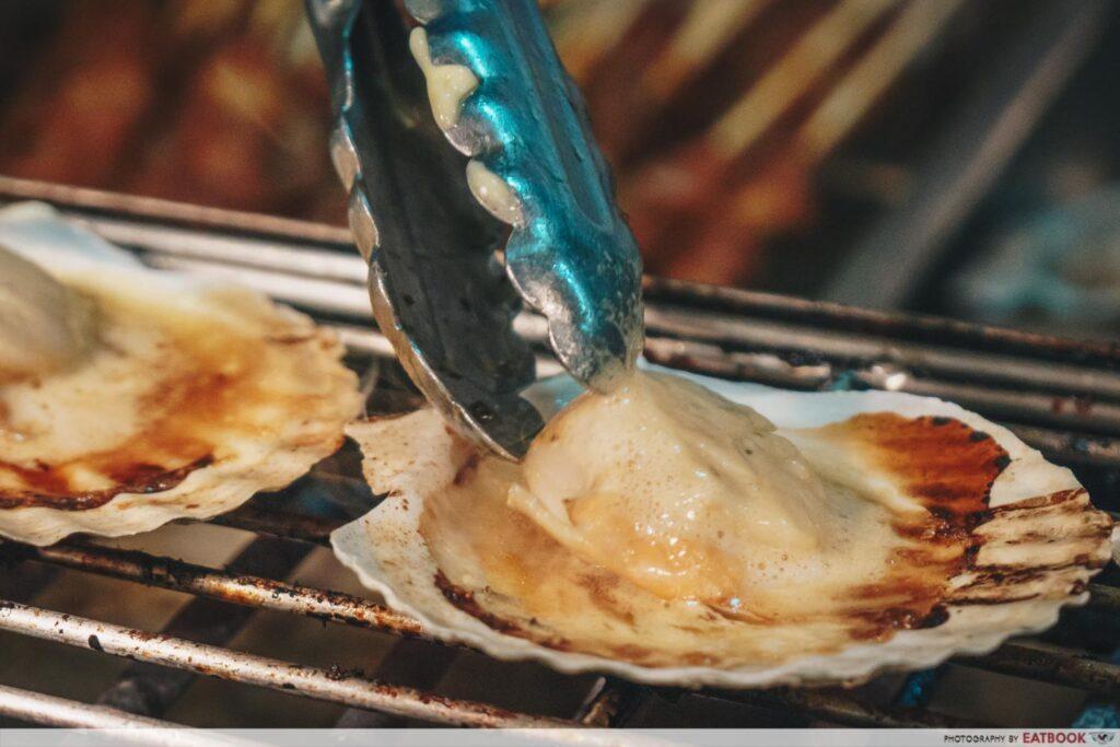 Crab buffet - scallop