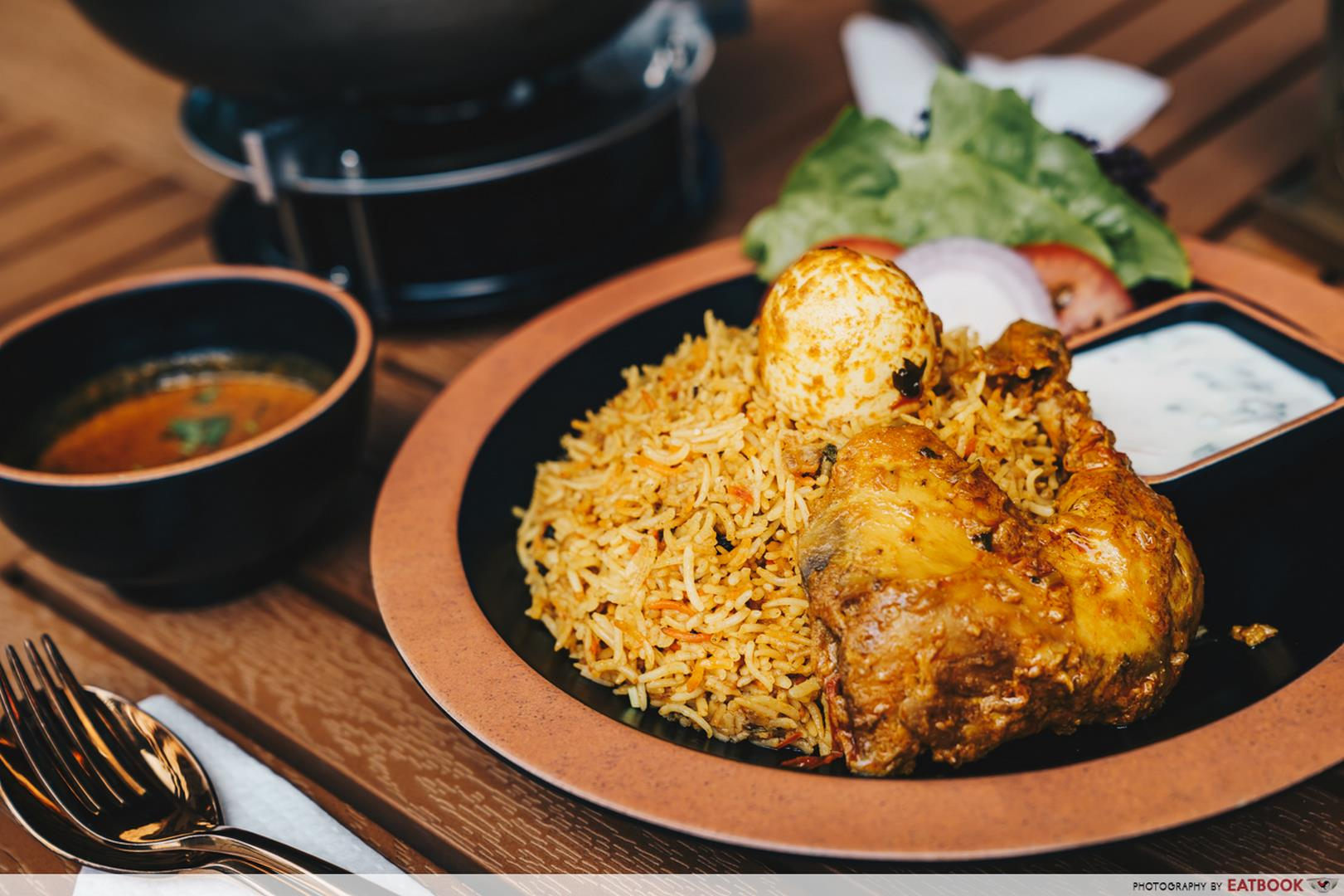 Downtown East Family Flaming Spice Chicken Briyani