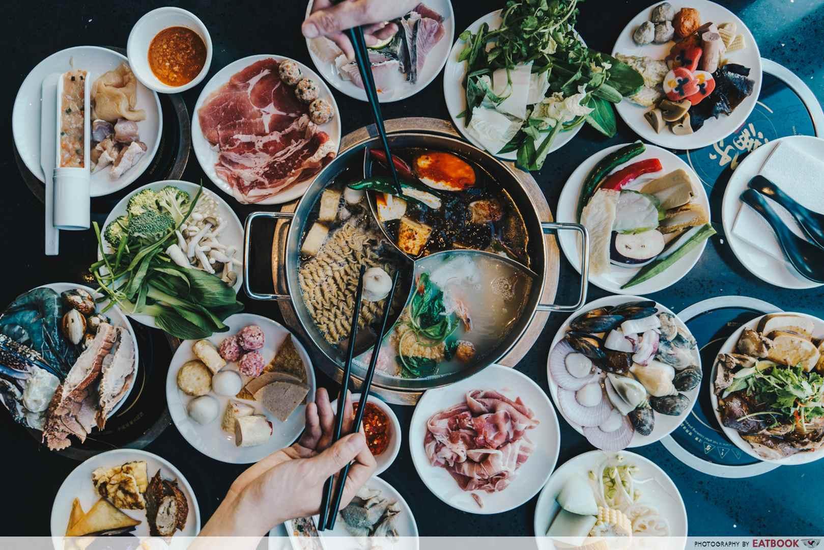 Downtown East Family Restaurants Manle Spread