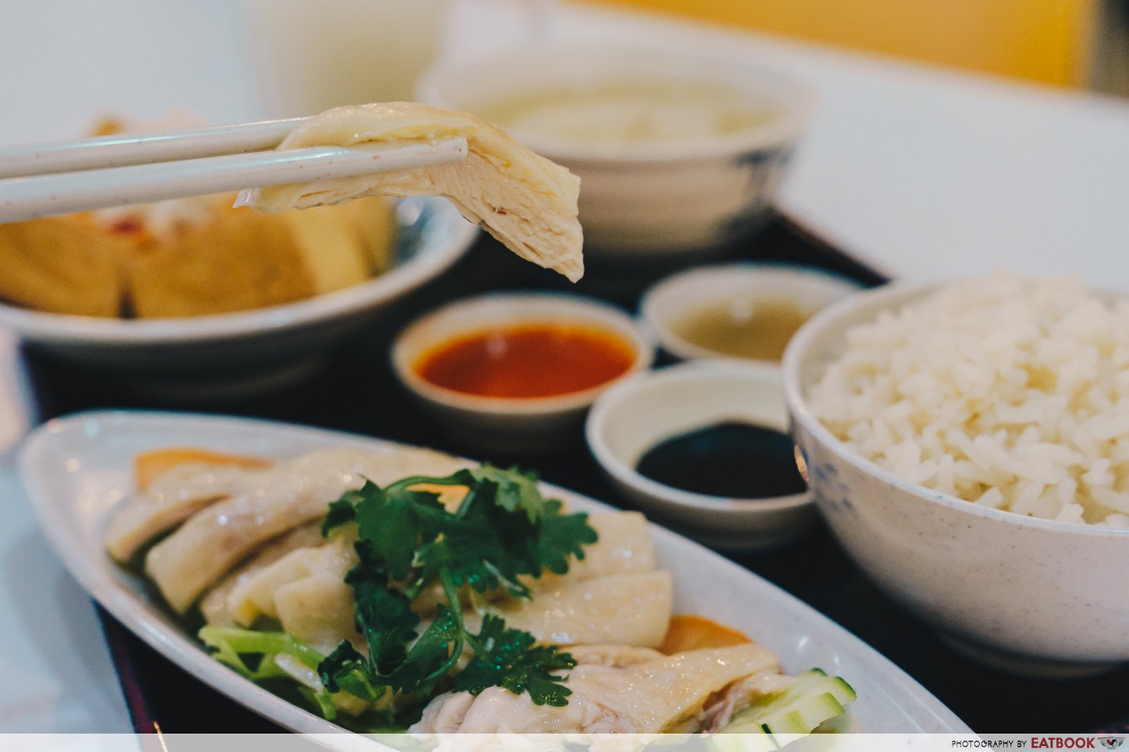 Downtown East Family Restaurants Mr Chicken Rice Set