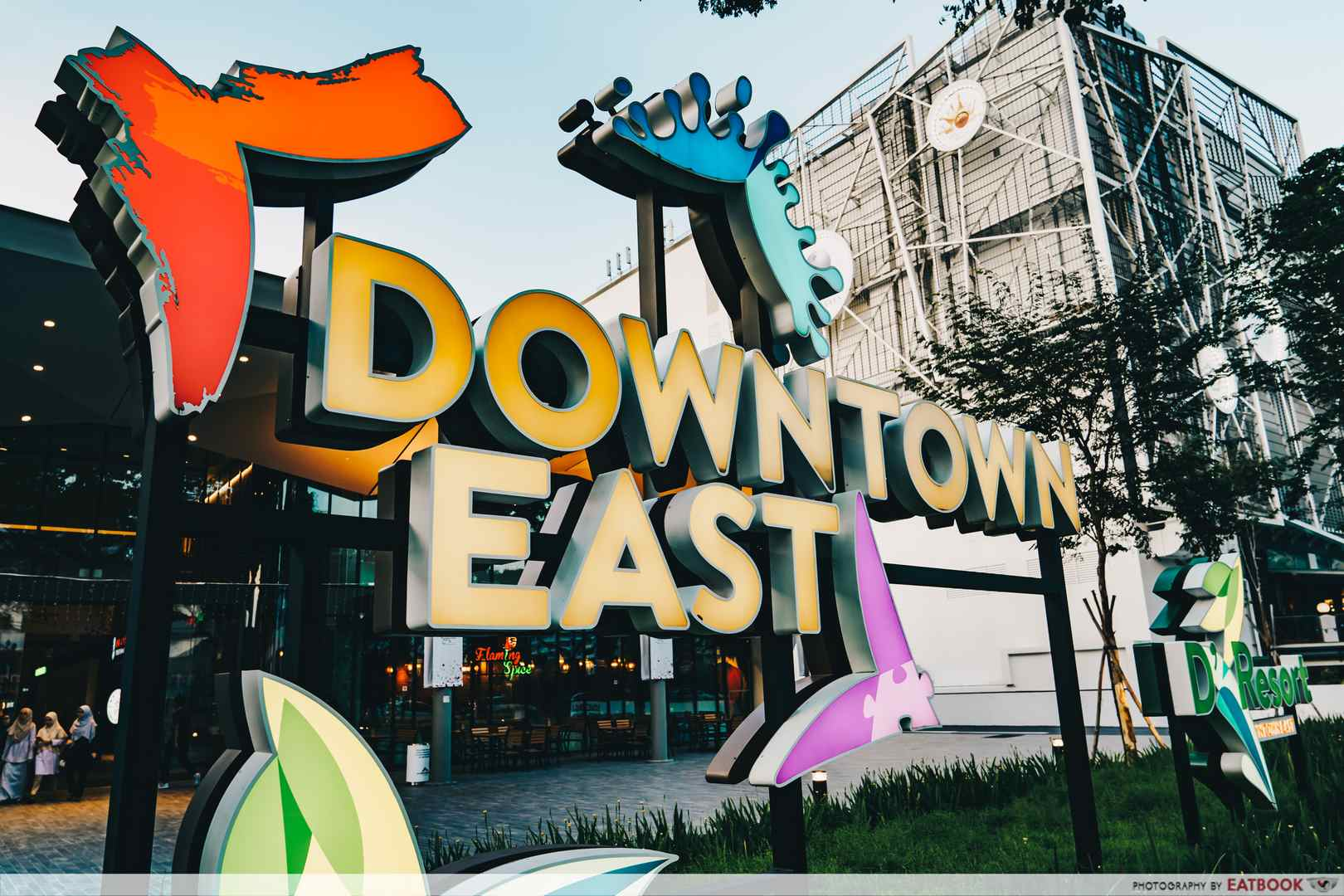 Downtown East Family Sign