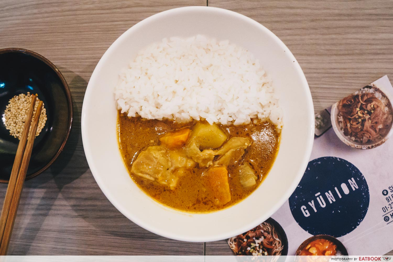 Gyunion - Curry Chicken Don