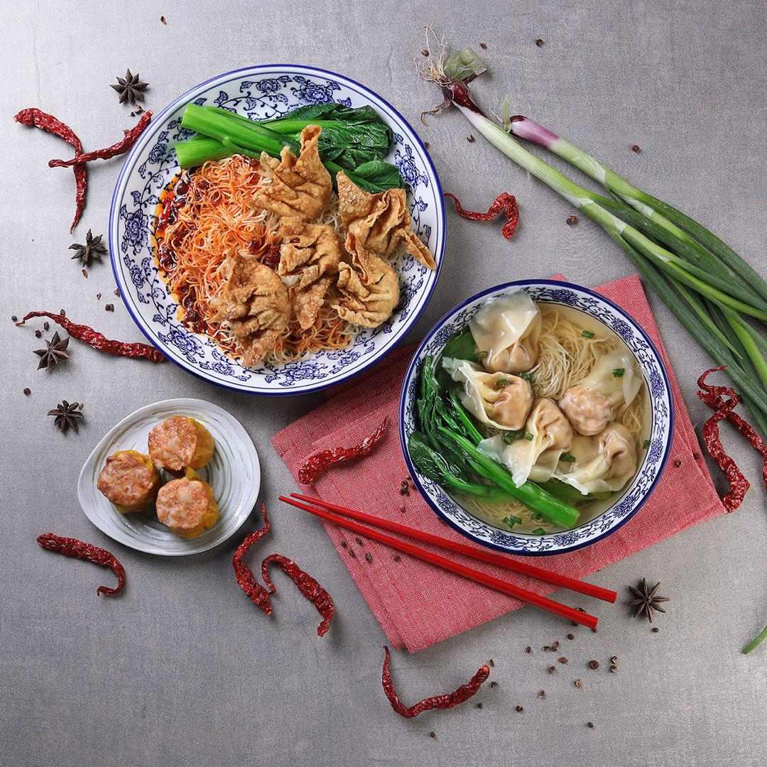 Mala Wonton Noodles