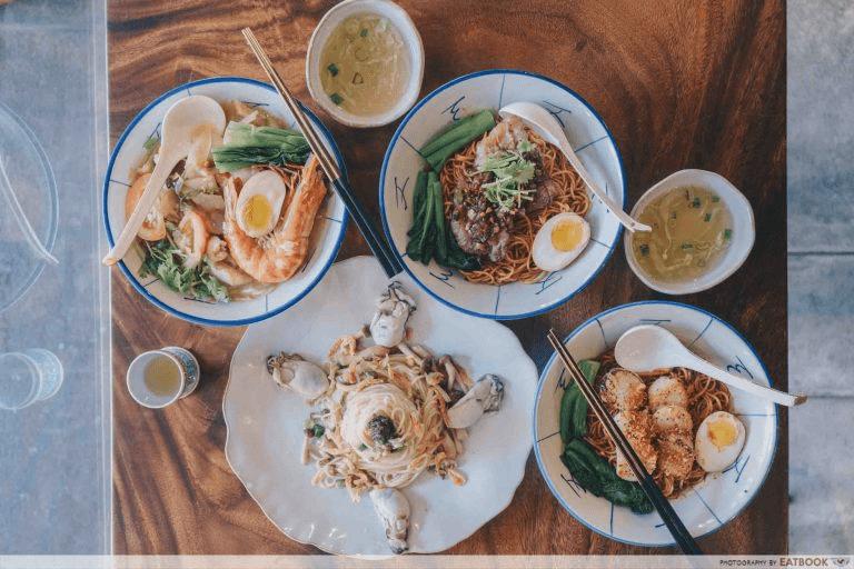 La Mian Food Places - Mister Wu