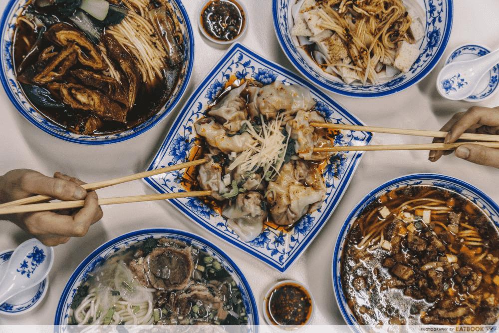 La Mian Food Places - Shi Xiang Ge