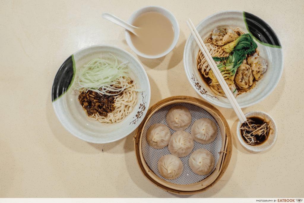 La Mian Food Places - Supreme Ramen Xiao Long Bao
