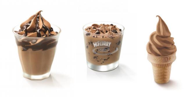 McDonald Hershey Ice Cream 2