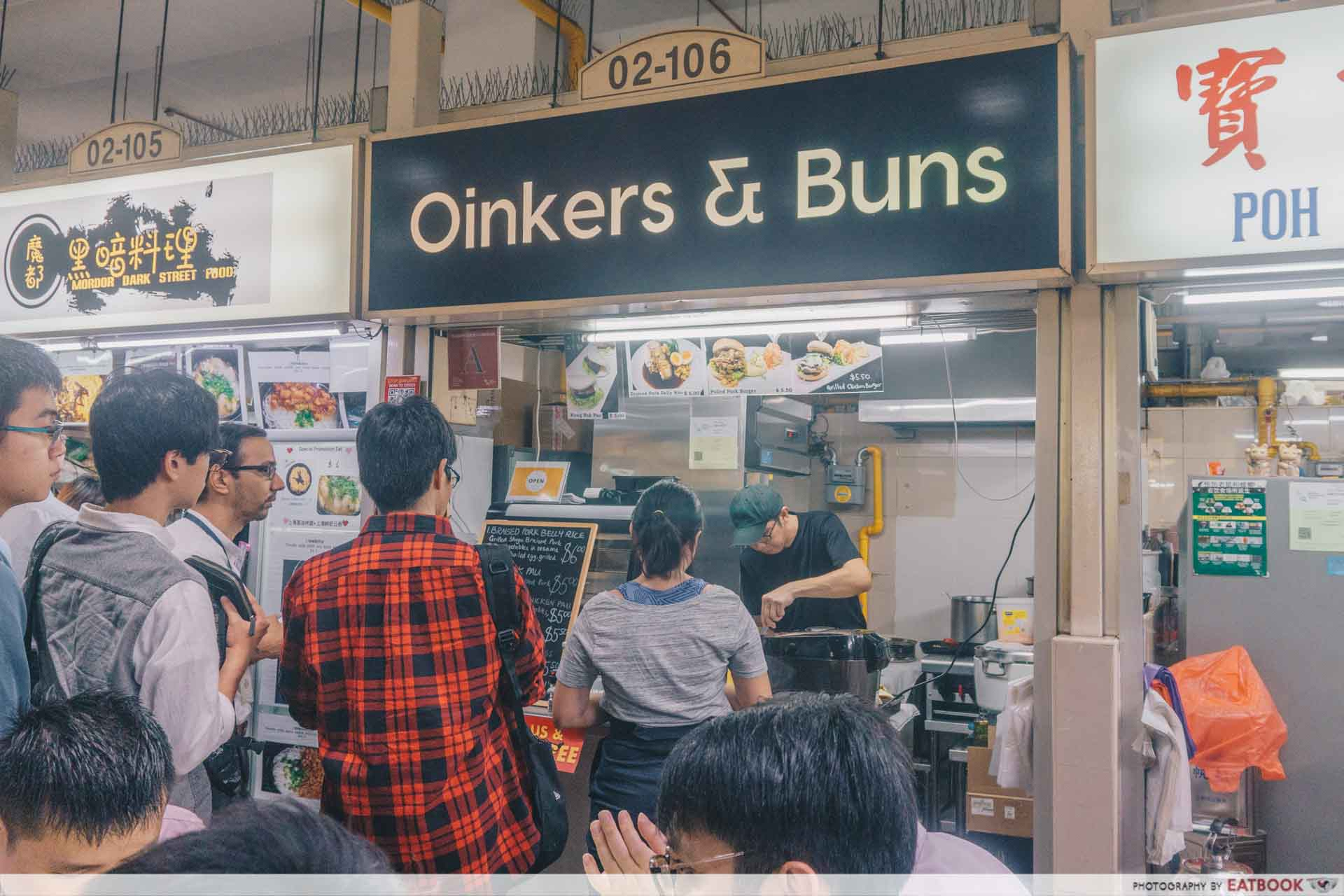 Oinkers & Buns - Storefront